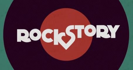 Resultado de imagem para logo da novela rock story